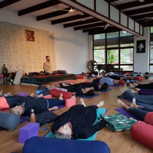Soulful Fitness retreat savasana