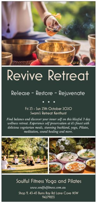 retreat flyer front